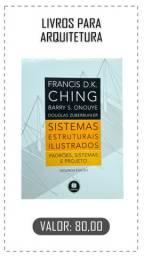 Vendo livro sistemas estruturais ilustrados