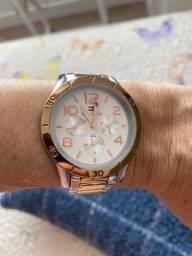 Relógio Feminino Aço Rose Tommy Hilfiger