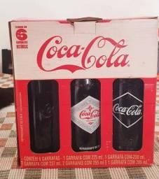 Coleção Coca Cola garrafinhas históricas