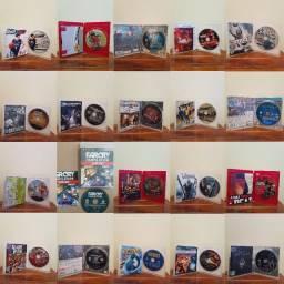 Jogos PS3 original (mídia física) - Preço un. na descrição