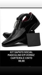 Kit Sapato social