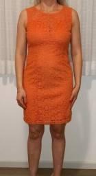 Título do anúncio: Vestido laranja
