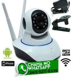 Câmera Wi-Fi Robô Giratória 360º - Fazemos Entregas