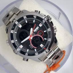 Relógio Masculino Skmei Modelo 1146 Digital e Analógico - Novo e Original