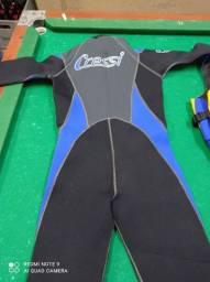 Roupa de mergulho completa marca Cressi