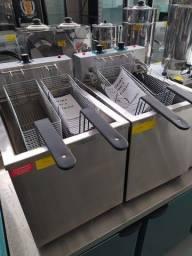 Título do anúncio: Fritadeira água e óleo 25L - elétrica 5000w / pronta entrega