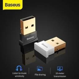 Adaptador Bluetooth USB Baseus p/ Computador ( Não Precisa de Instalação )