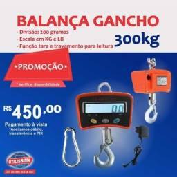 Título do anúncio: Balança Digital De Gancho 300 kg ? Entrega grátis