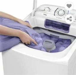 Lavadora Eletrolux 16kg com dispenser autolimpante e ciclo silencioso(Lac16).
