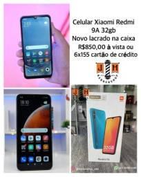 Celular Xiaomi Redmi 9A 32gb ORIGINAL novo lacrado na caixa - somos loja