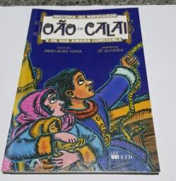 Livro paradidático história do navegador João de Calais