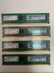 Memória RAM 4gb DDR3
