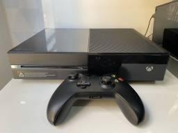 Xbox one fat 500gb + 1 controle e 11 jogos