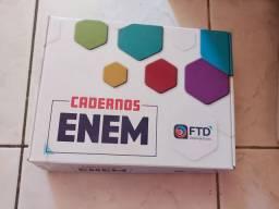 Caderno FTD com todas as questões do ENEM de 98 a 2019
