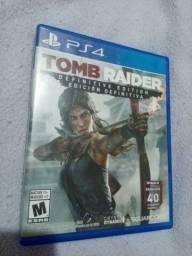 Título do anúncio: Jogo Tomb Raider Ps4