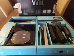 Título do anúncio: Nintendo Wii Black Bloqueado e em excelente estado