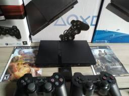 Título do anúncio: Console PS2 estado novo