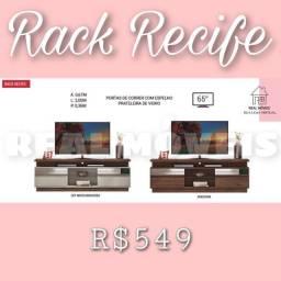 Rack rack recife / rack recife / rack recife (prateleira de vidro)