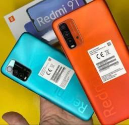 Incrível preço - R$ 1.539,00 Smartphone Xiaomi Redmi 9T 128 / 6 Gigas Tela Amoled