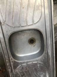 Pia de alumínio pra cozinha