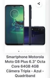 Motog8 plus com nota fiscal.