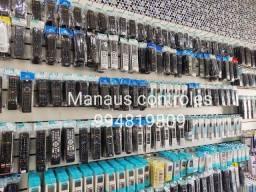 Controle de Tv / Bluray / Home Theater e Diversos é na Manaus controles