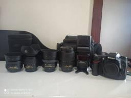 Nikon D7100 Dslr + Lentes + Flash - Kit Completo