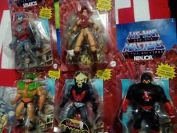 5 bonecos MOTU He-man