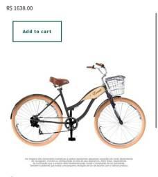 Bicicleta Evocati Praiana Confort preta seminova