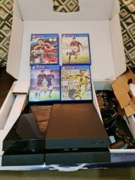 Ps4 500gb na caixa
