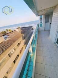 Título do anúncio: 112Mil Entrada Saldo120Meses - NOVO - Vista MAR -2 Dorm/suite sacada gourmet e garagem