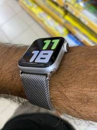 Apple Watch s4 40mm seminovo SILVER