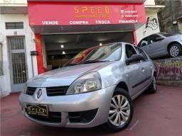 Título do anúncio: Renault Clio 2007 1.0 authentique sedan 16v flex 4p manual