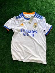 Título do anúncio: Camisa Real Madrid Home 21/22