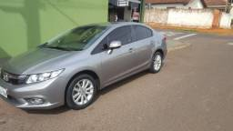 Honda Civic lxl 2012/13 financiando - 2012