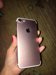 IPhone 7 128Gb Rose *Tela Quebrada