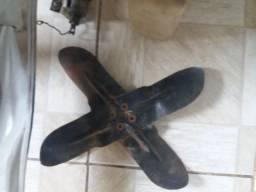 Hélice Radiador C10 C14 Opala Veraneio Antigo Ferro