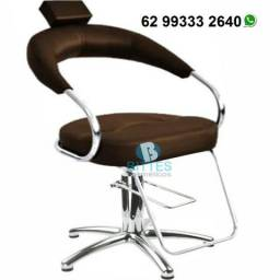 Cadeira para Salão de Beleza 100% Hidráulica Bittes Cosméticos