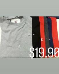 Camisetas $19.90