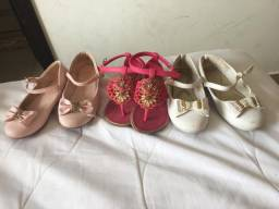 3 sapatos