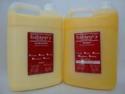Shampoo e condicionador 5 litro