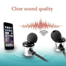 Fone Bluetooth Magnético