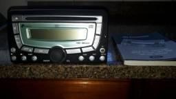 Rádio original Ford Ka, com manual