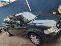 Passat variante 1999 1.8 único dono relíquia carro placa Mercosul livreto manual e chave - 1999