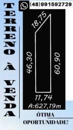 Terreno 627,19m²