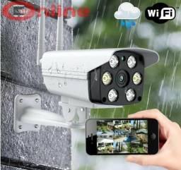 Camera Ip Wifi 360 Hd Ipega 1.3mp Wireless Externa Até 128gb a prova d água