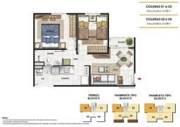 Brisa do Vale - Macaé - Apartamento 2 Quartos com garagem