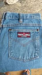 Calça jeans country