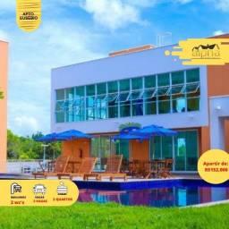 Apartamento 2/4 a venda no Eusébio Pronto P/ Morar