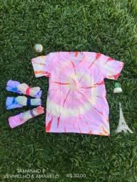 Camisas Coloridas Tie Dye